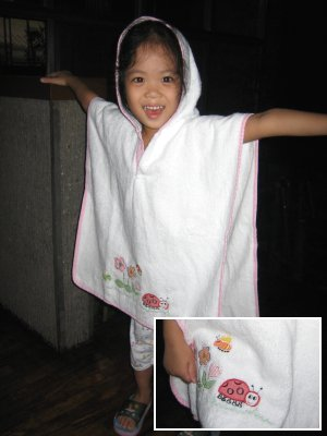 Hooded Poncho Towel