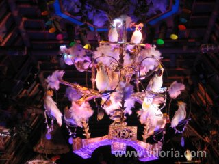 Birds in the Tiki room