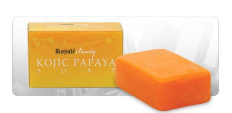 Kojic Papaya Skin Lightening Soap